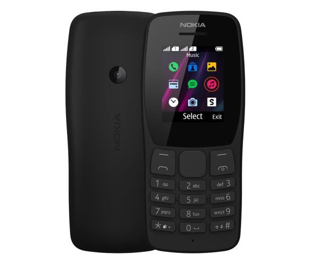 Nokia 110 Dual SIM czarny - 533482 - zdjęcie