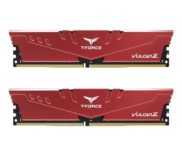 Team Group 32GB (2x16GB) 3000MHz CL16 T-Force VulcanZ RED  - 532571 - zdjęcie