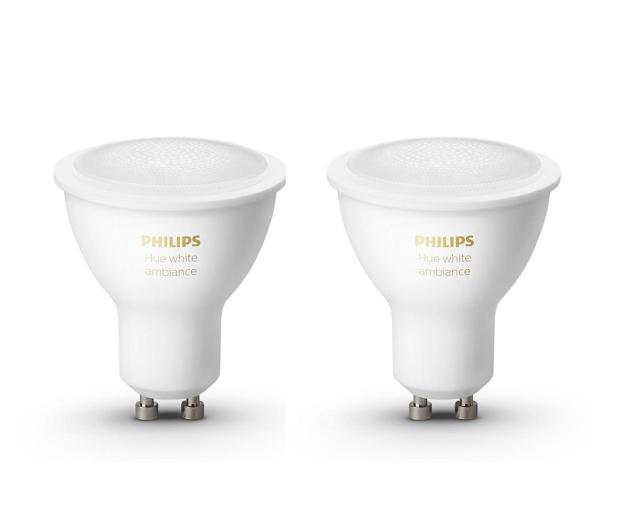 Philips Hue White Ambiance (2szt. GU10 5W) - 531670 - zdjęcie