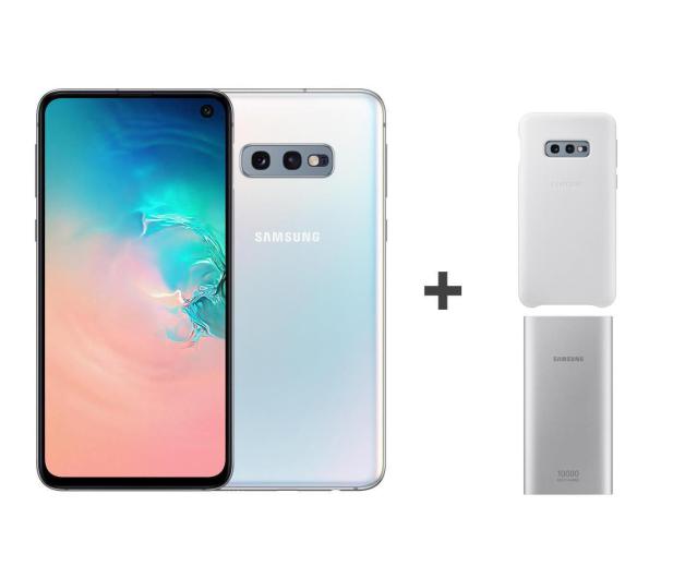 Samsung Galaxy S10e G970F Prism White + ZESTAW - 493909 - zdjęcie