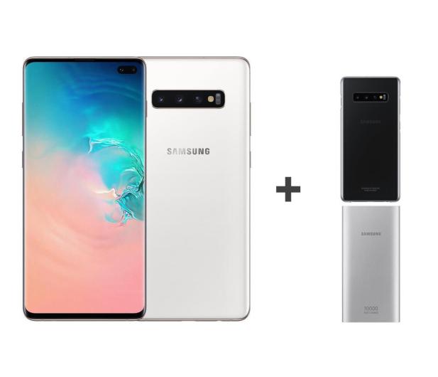 Samsung Galaxy S10+ G975F Ceramic White 1TB + ZESTAW - 493916 - zdjęcie