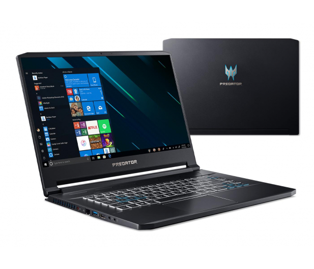 Acer Triton 500 i7-9750/16GB/512/Win10 RTX2080 MaxQ IPS - 500887 - zdjęcie