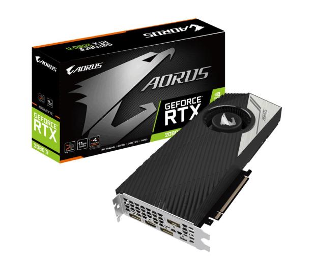 Gigabyte GeForce RTX 2080 Ti AORUS TURBO 11GB GDDR6 - 462076 - zdjęcie