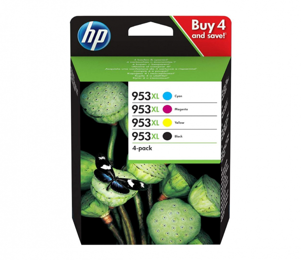 HP Zestaw 4 tuszów 953XL CMYK - 479415 - zdjęcie