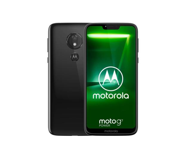 Motorola Moto G7 Power 4/64GB Dual SIM czarny + etui - 478821 - zdjęcie