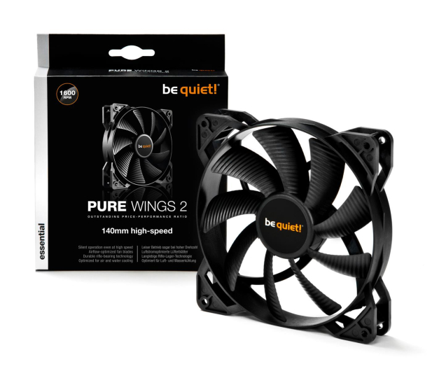 be quiet! Pure Wings 2 140mm High-Speed  - 479816 - zdjęcie 3