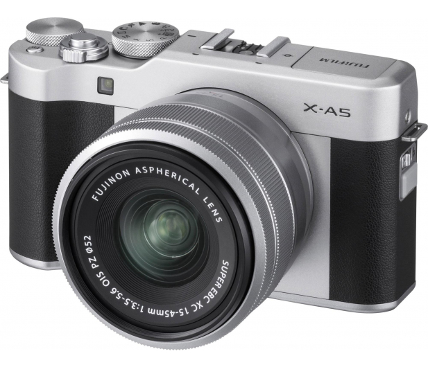 Fujifilm X-A5 + XF 15-45 srebrny - 476664 - zdjęcie