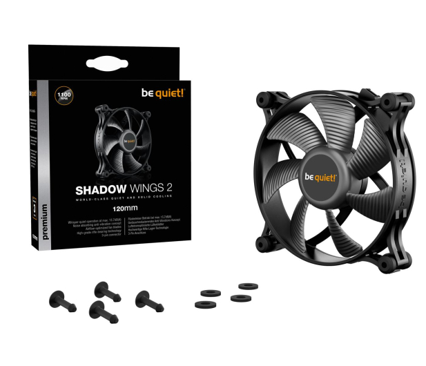 be quiet! Shadow Wings 2 120mm - 479822 - zdjęcie 5