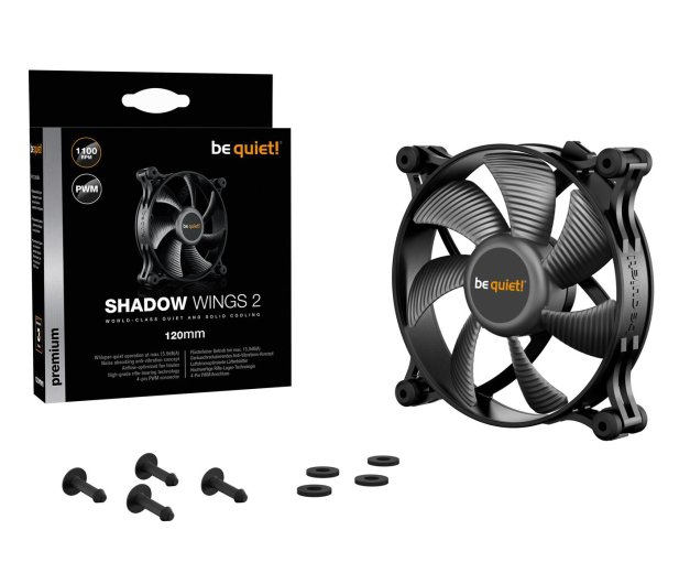 be quiet! Shadow Wings 2 120mm PWM  - 479823 - zdjęcie 5