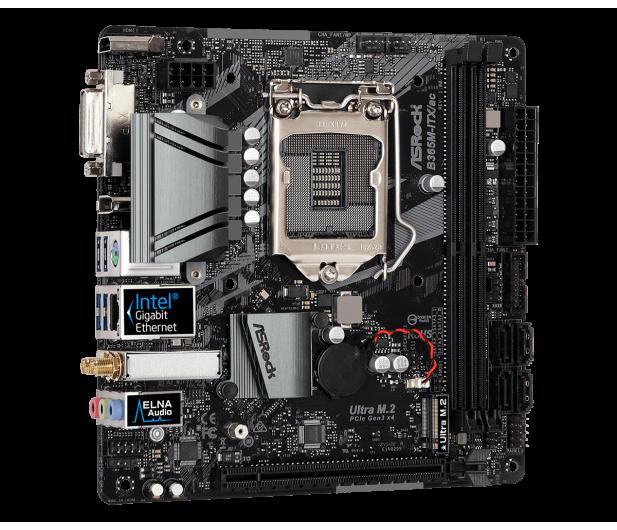ASRock B365M-ITX/ac - 478574 - zdjęcie 2