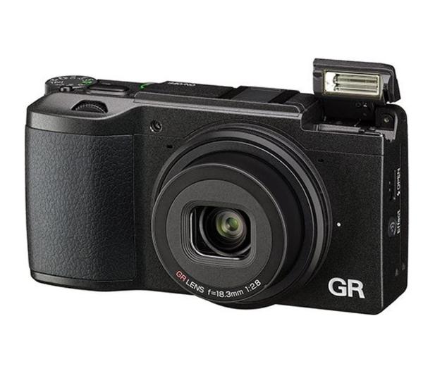 Ricoh GR II + Bateria + Futerał  - 479437 - zdjęcie