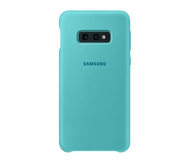 Samsung Silicone Cover do Galaxy S10e zielony - 478326 - zdjęcie