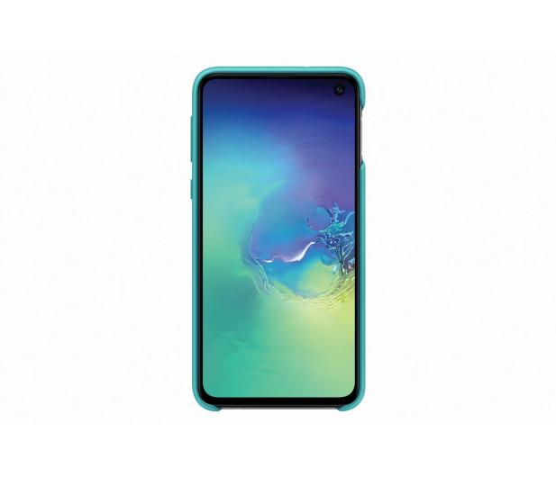 Samsung Silicone Cover do Galaxy S10e zielony - 478326 - zdjęcie 2