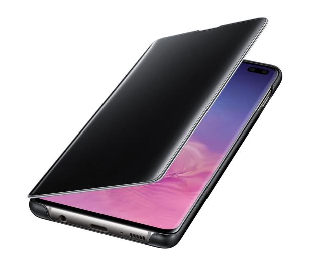 Samsung Clear View Cover do Galaxy S10+ czarny - 478383 - zdjęcie