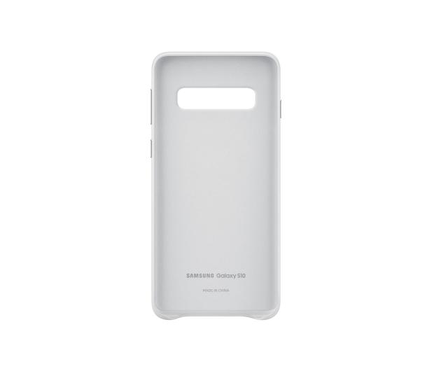 Samsung Leather Cover do Galaxy S10 biały  - 478363 - zdjęcie 3