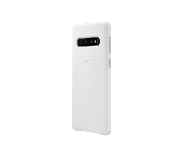 Samsung Leather Cover do Galaxy S10 biały  - 478363 - zdjęcie 4