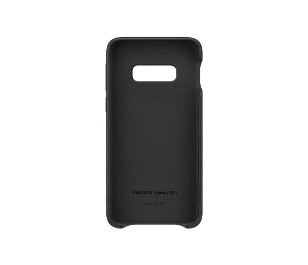 Samsung  Leather Cover do Galaxy S10e czarny - 478330 - zdjęcie 3