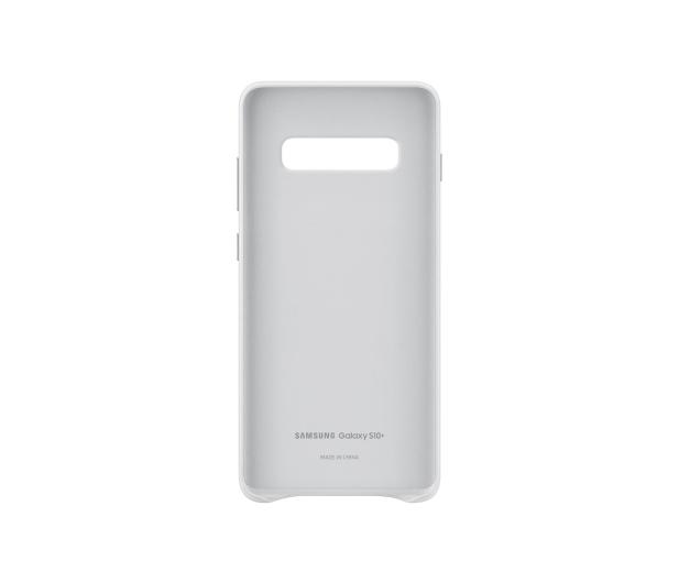 Samsung Leather Cover do Galaxy S10+ biały - 478402 - zdjęcie 3