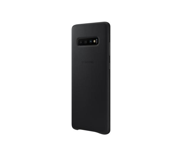 Samsung Leather Cover do Galaxy S10+ czarny - 478401 - zdjęcie 4