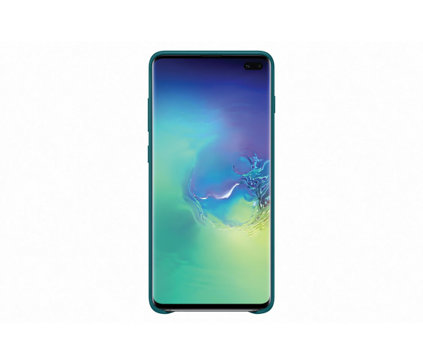 Samsung Leather Cover do Galaxy S10+ zielony - 478405 - zdjęcie 2