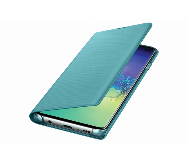 Samsung LED View Cover do Galaxy S10 zielony - 478377 - zdjęcie 2