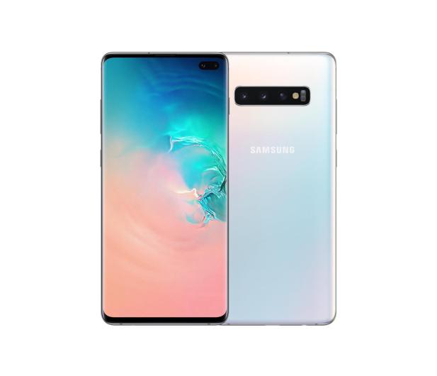 Samsung Galaxy S10+ G975F Prism White + ZESTAW - 493913 - zdjęcie 3