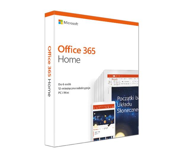 Microsoft Office 365 Home | zakup z komputerem - 319357 - zdjęcie