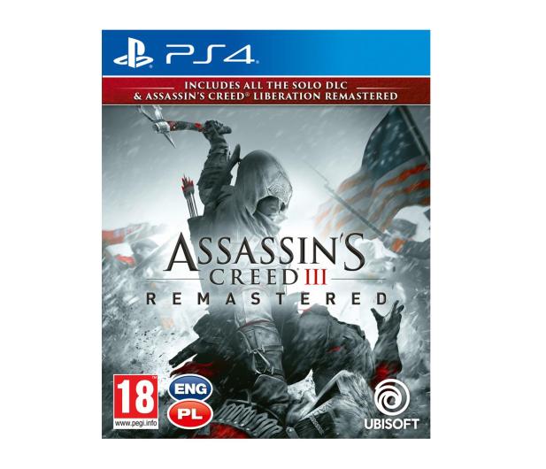 CENEGA Assassin's Creed 3 + Liberation Remaster - 480466 - zdjęcie