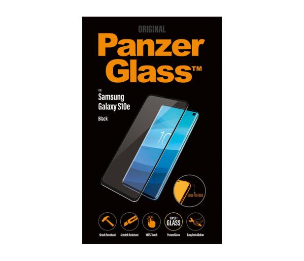 PanzerGlass Szkło Edge Casefriendly do Galaxy S10E Black - 475774 - zdjęcie