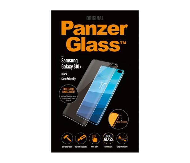 PanzerGlass Szkło Edge Casefriendly do Galaxy S10+ Black - 475773 - zdjęcie