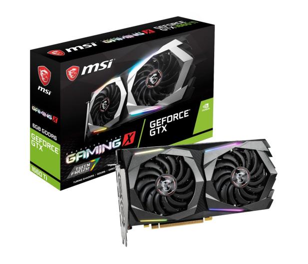 MSI GeForce GTX 1660 Ti GAMING X 6GB GDDR6  - 480236 - zdjęcie