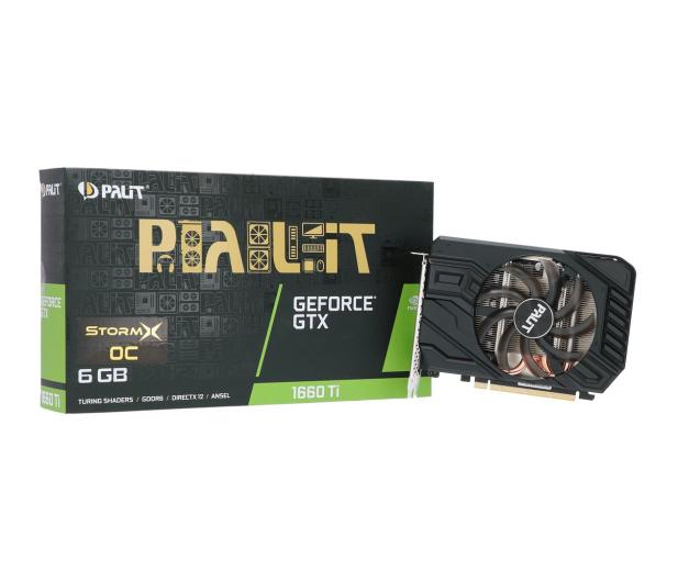 Palit GeForce GTX 1660 Ti StormX OC 6GB GDDR6 - 480597 - zdjęcie