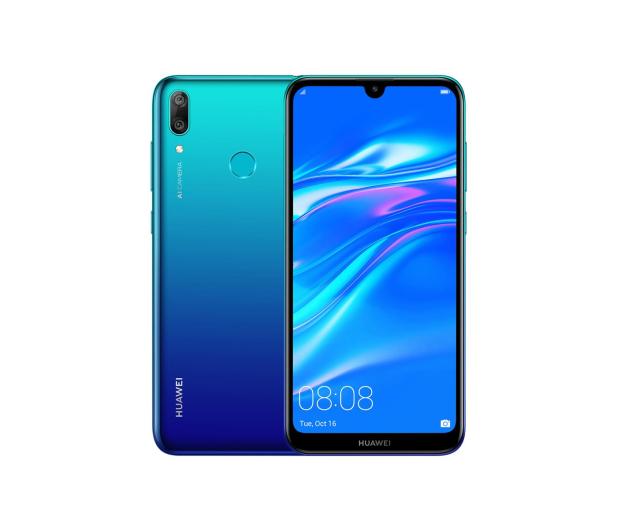 Huawei Y7 2019 niebieski - 479879 - zdjęcie