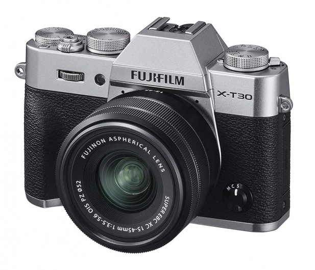 Fujifilm X-T30 + 15-45mm srebrny - 481833 - zdjęcie