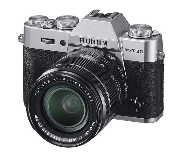 Fujifilm X-T30 + 18-55mm srebrny - 481827 - zdjęcie