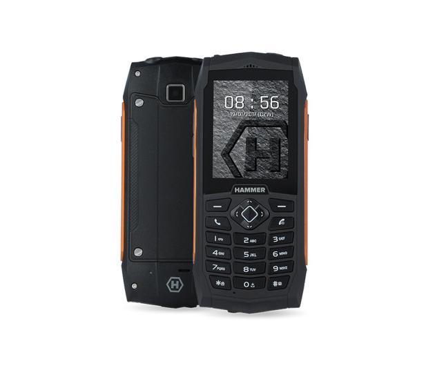 myPhone HAMMER 3 Plus Dual SIM pomarańczowy - 454720 - zdjęcie