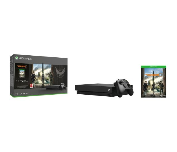Microsoft Xbox One X 1TB+The Division2+GoW4+FIFA19+EA Access - 481287 - zdjęcie 8