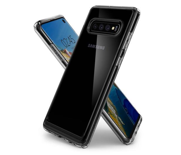 Spigen Crystal Hybrid do Samsung Galaxy S10 Clear  - 479290 - zdjęcie 2