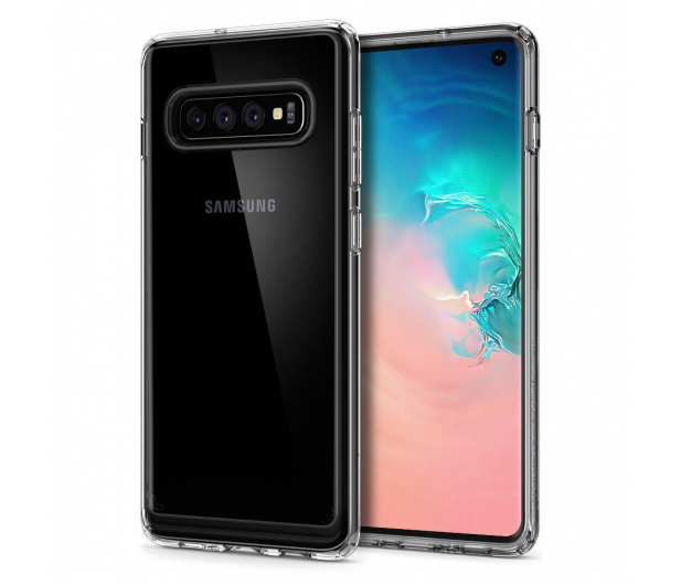Spigen Crystal Hybrid do Samsung Galaxy S10 Clear  - 479290 - zdjęcie