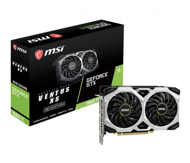MSI GeForce GTX 1660 Ti VENTUS XS OC 6GB GDDR6  - 480232 - zdjęcie