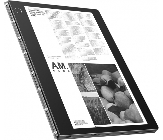 Lenovo Yoga Book C930 m3-7Y30/4GB/128/Win10  - 478437 - zdjęcie 3