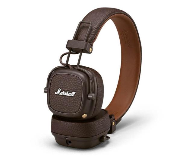 Marshall Major III Bluetooth Brązowe - 455737 - zdjęcie