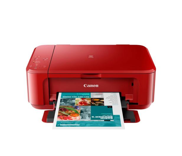 Canon PIXMA MG3650S czerwona - 481539 - zdjęcie