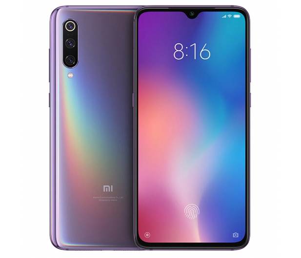 Xiaomi Mi 9 6/128GB Lavender Violet - 482335 - zdjęcie 5
