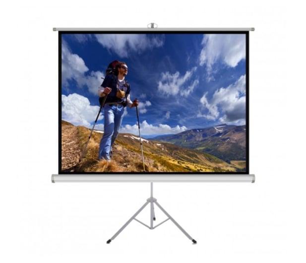 """ART Ekran ręczny na statywie 84"""" 152x152cm 1:1 - 482963 - zdjęcie"""