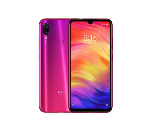 Xiaomi Redmi Note 7 4/128GB Nebula Red - 504990 - zdjęcie
