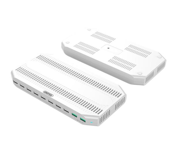Unitek Stacja Ładująca 10x USB z QC 3.0 - 482230 - zdjęcie 2