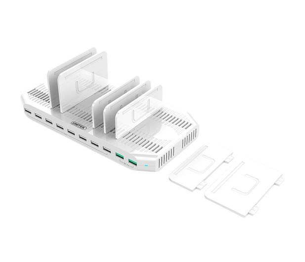 Unitek Stacja Ładująca 10x USB z QC 3.0 - 482230 - zdjęcie 3