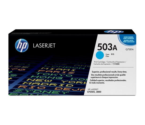 HP Q7581A cyan 6000str. - 15057 - zdjęcie