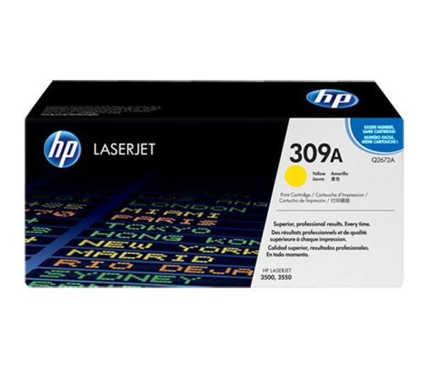 HP 309A Q2672A yellow 4000str. - 6569 - zdjęcie